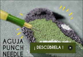 Descubre la nueva aguja punch needle