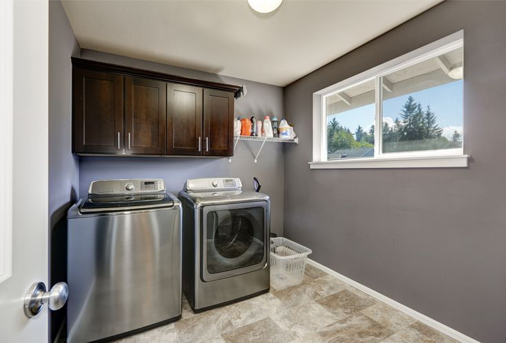 8 Best Paint Colors For Your Laundry Room Grey Laundry Rooms