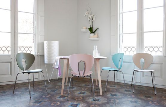 Globus Chair and Lau Table by Stua.