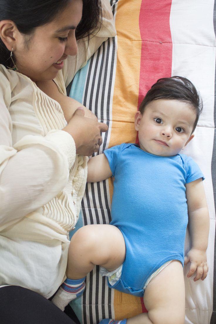 """El Instituto Nacional de Perinatología """"Isidro Espinosa de los Reyes"""" (INPer) busca hacer conciencia de la importancia de la lactancia materna."""