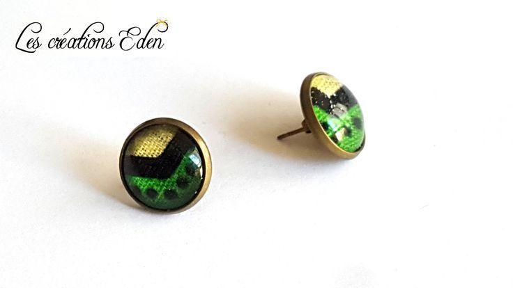 Boucles d'oreilles Elisa - Bronze