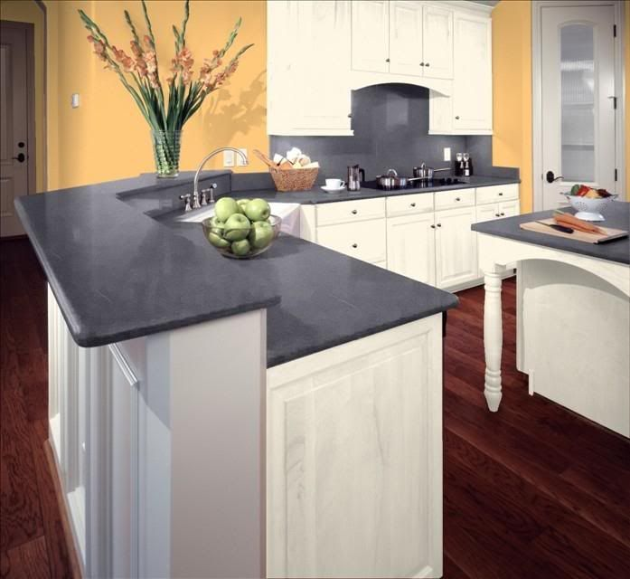 This photo was uploaded by laurakeck kitchen for Corian countertops prices