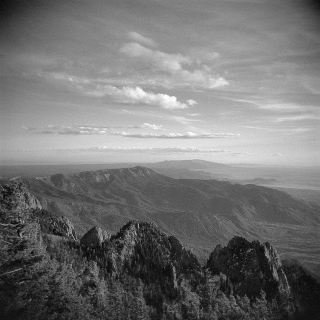 Sandia Peak,  Albuquerque, N.M.  I,could see this out my dorm window when I attended the University of New Mexico in 49 - 50. JKR