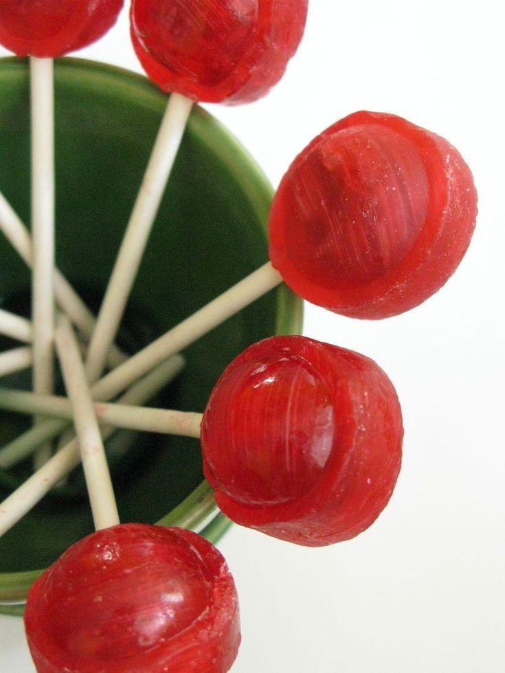 79 best tootsie pop ideas!! images on Pinterest | Crafts ...  Red Tootsie Pop