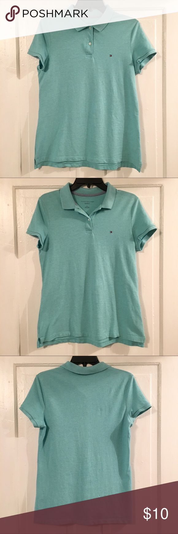 🎉SALE!!🎉 Tommy Hilfiger Relaxed Fit Blue Polo 🎉SALE!!🎉 Tommy Hilfiger Short Sleeve Polo Shirt Size Small Relaxed Fit Light Blue(color of the last photo) 94% Cotton and 6% Elastane Machine Washable Excellent Condition!  **Sale ends on Sunday(12/3)** Tommy Hilfiger Tops