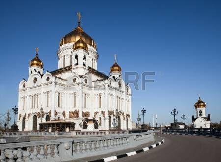 Kristus Spasiteľ katedrála, Moskva, Rusko foto
