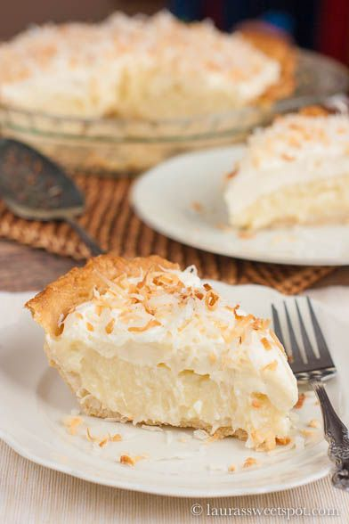 This Coconut Cream Pie has coconut milk, coconut extract, cream of coconut, AND sweetened shredded coconut! Talk about some serious coconut favor... Truly the ULTIMATE COCONUT CREAM PIE!