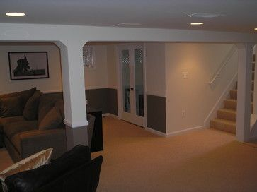 Traditional Basement Photos Small Basement Remodeling Ideas Design Ideas, Pictures, Remodel, and Decor - page 26