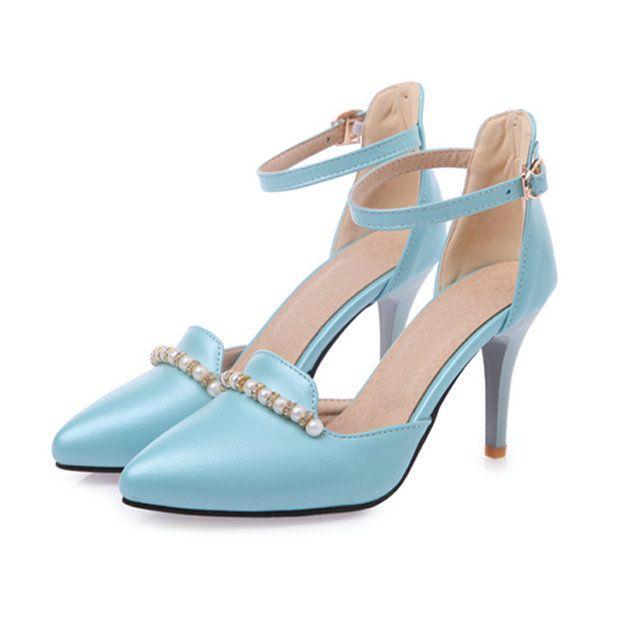 Formato 30-43 2015 nuove donne di arrivo sexy moda tacchi alti wedding party pompe tacco alto scarpe donna libera di trasporto(China (Mainland))