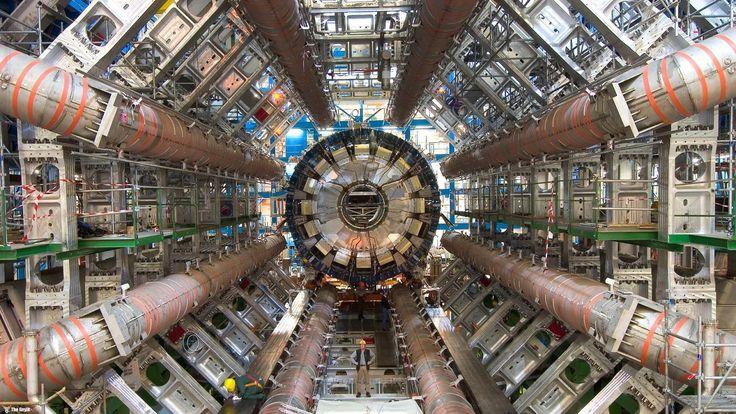 CERN'den şok bulgu; Aslında evren yok!   CERN, Tanrı Parçacığı olarak bilinen Higgs Bozonu'nun araştırıldığı 10 milyar dolarlık de...