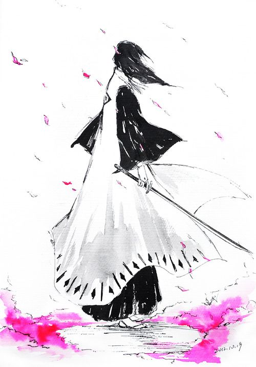 Awesome fan-art. If only Byakuya is real, I'd marry him without second thoughts *^*  Byakuya samaaaaaa ♥