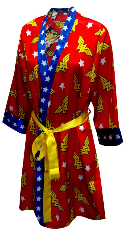 WebUndies.com Wonder Woman Satin Robe