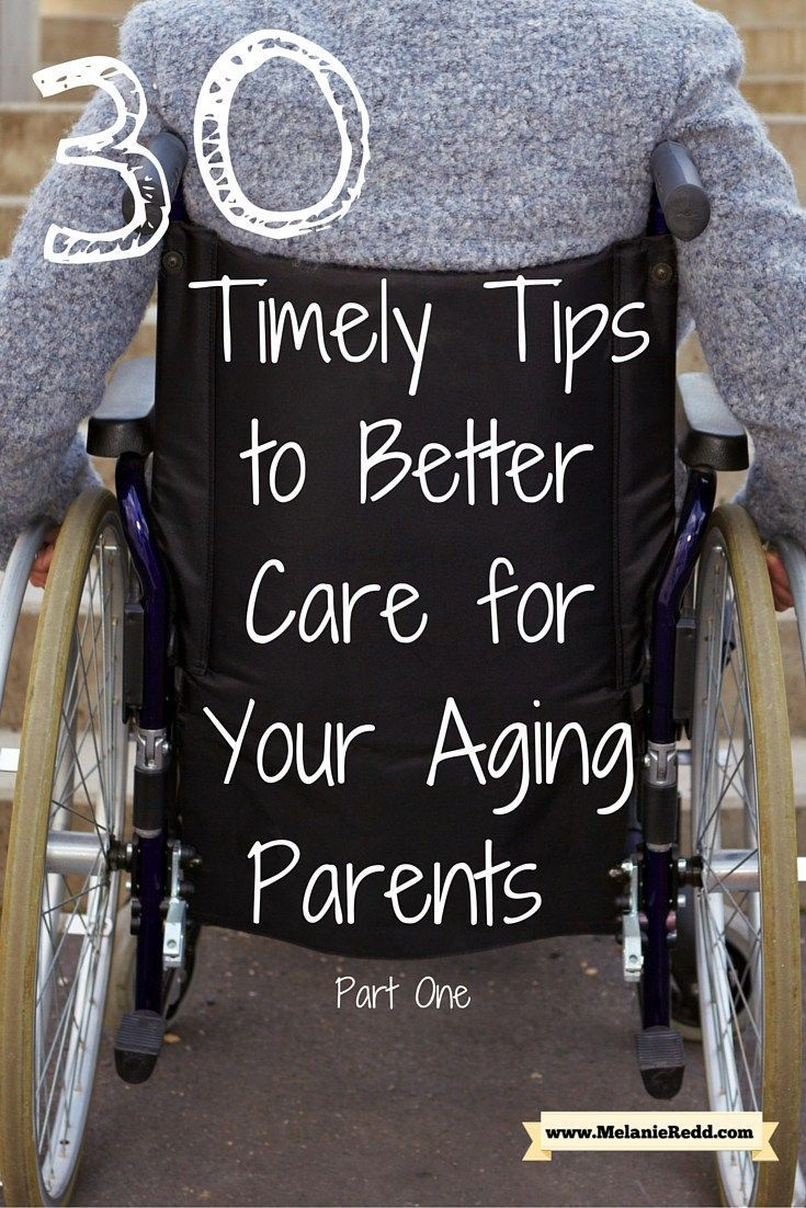 As your parents begin to grow older, how can you take care of them? Here is an article filled with inspirational support, tips, and suggestions for how to be a