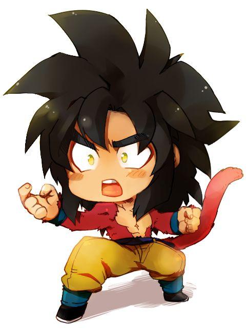 DBZ Goku level 4