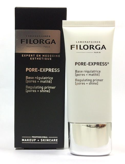 FILORGA Pore Express Base Régulatrice et Matifiante . Review Photos Swatches