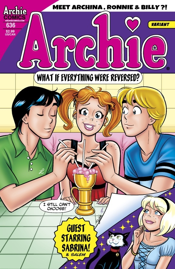 An Archie comics game changer! Man, I miss the days when the majority of my savings went to Archie comics. Now, that would just seem sad. (Right?)
