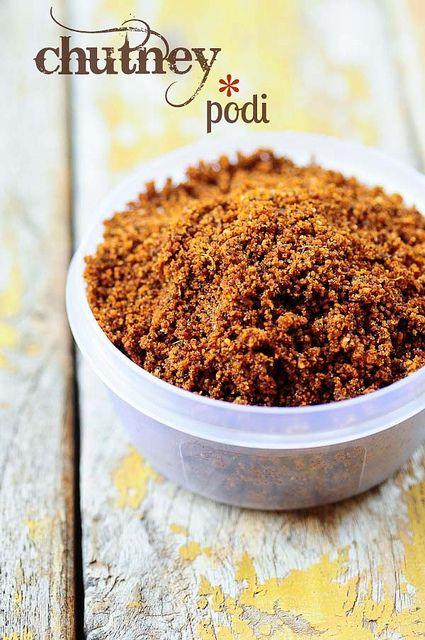 Chutney Podi Recipe - Coconut Chutney Powder Recipe for Idli, Dosa, Rice