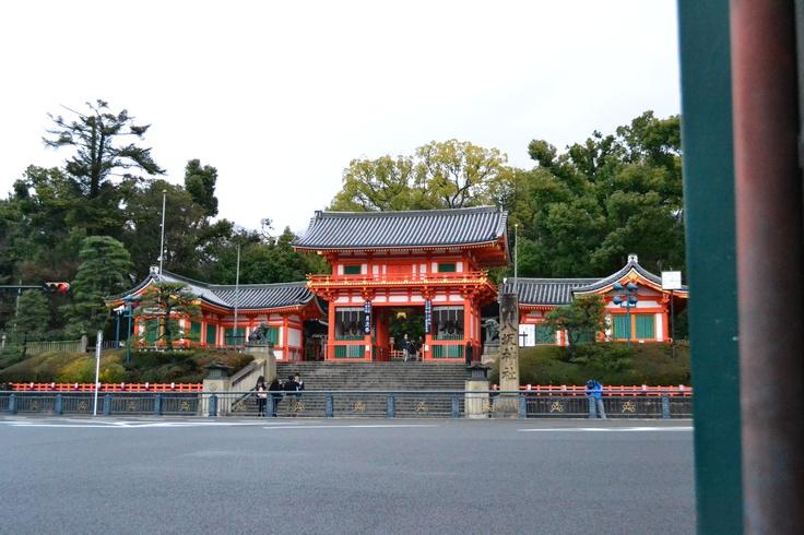 八坂神社。