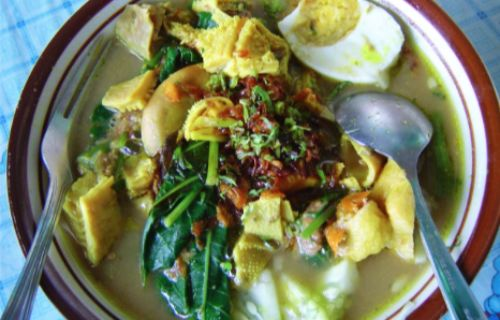 Rujak soto Kuliner khas Banyuwangi yang Populer