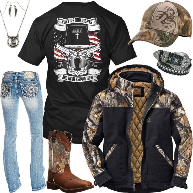 They're Our Rights Legendary Whitetails Jacket Outfit - Real Country Ladies