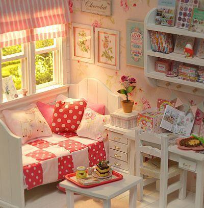 ♥ Handmade Custom Diorama SUMMER CANDY ♥