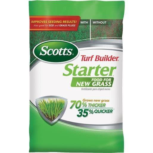 Scotts Co. 1M Tb Starter Fertilizer 21701 Unit: BAG, Green grass, Gardening