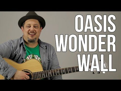 Wonderwall by Oasis - Acoustic Guitar Lesson - How to Play Strumming Chord Songs - YouTube