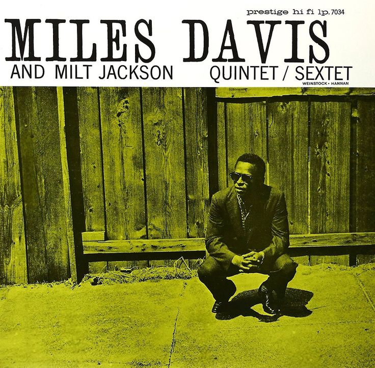 Miles Davis and Milt Jackson recorded Quintet/Sextet for Prestige #onthisday in 1955.