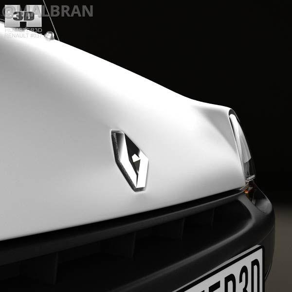Renault Twingo - AUTO - CAR - AUTOMOVIL - TUNING - Modificado - 3D - RENDER - By @MALBRAN