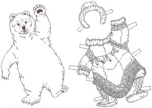 The Three Snow Bears Book And Corresponding Craft Books With Lessons