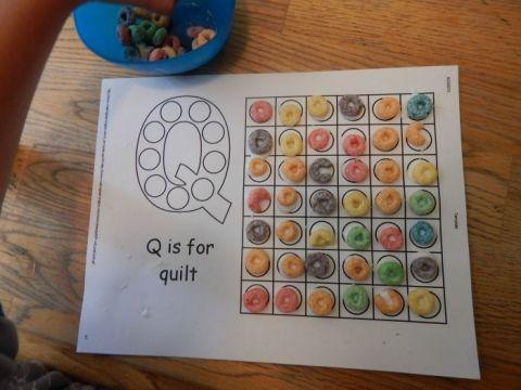 letter q activity 6