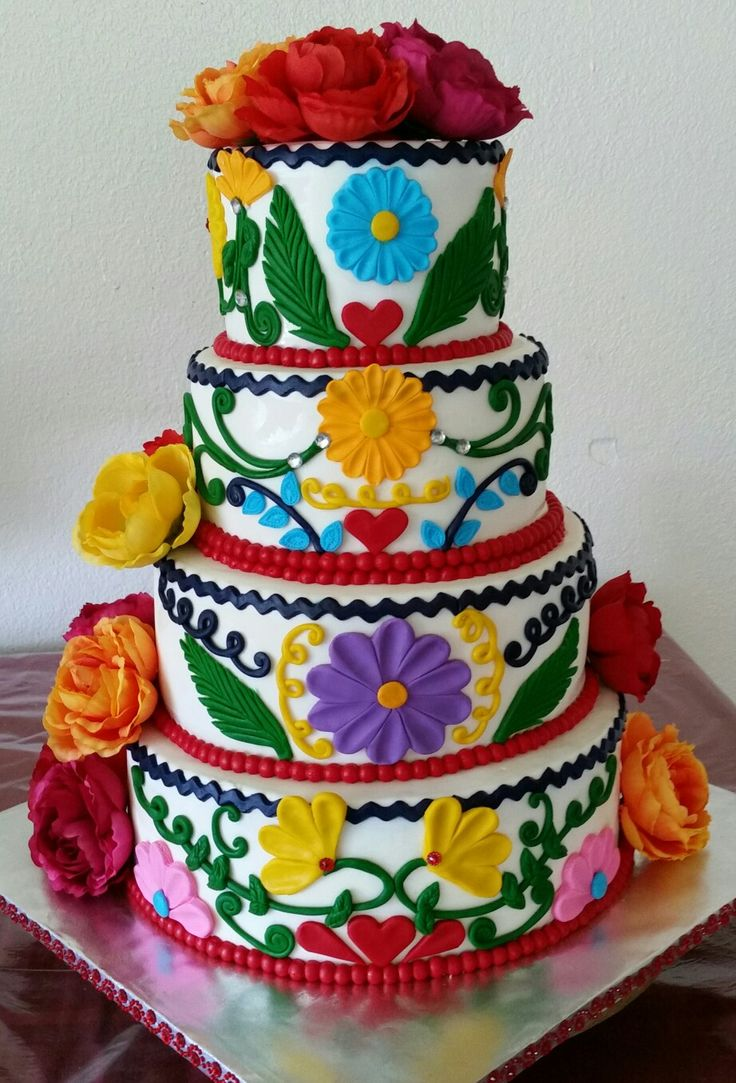mexican themed wedding cakes mexican themed cake cinco de mayo 17283