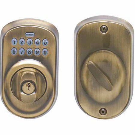 25 best ideas about keypad deadbolt on pinterest schlage keypad deadbolt schlage locks and. Black Bedroom Furniture Sets. Home Design Ideas