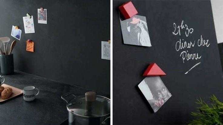 1000 id es propos de peinture magn tique sur pinterest. Black Bedroom Furniture Sets. Home Design Ideas