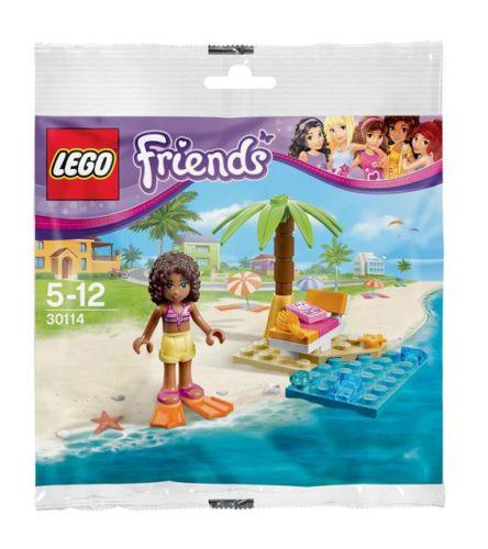 Lego 30114 Friends Andreas Beach Lounge