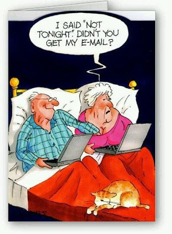 Old couple these days