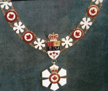 livery collar order of canada