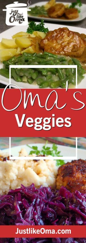 134 best omas veggies images on pinterest german cuisine omas easy vegetable recipes made just like oma german food forumfinder Images