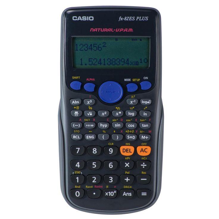 CALCULADORA CIENTIFICA CASIO FX-82LA PLUS 252 FUNC | Platino