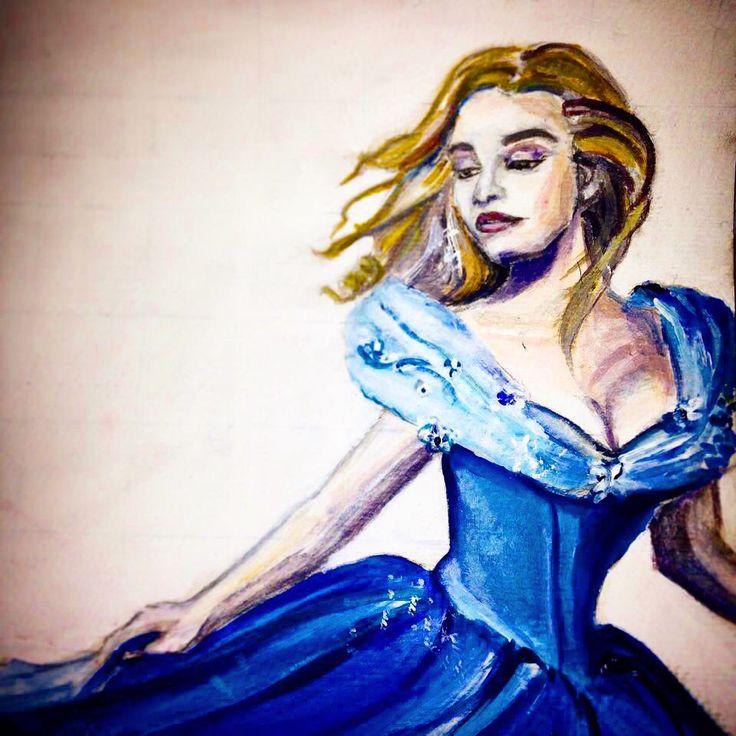 #cinderella #fanart#lilyjames#disney#art#painting
