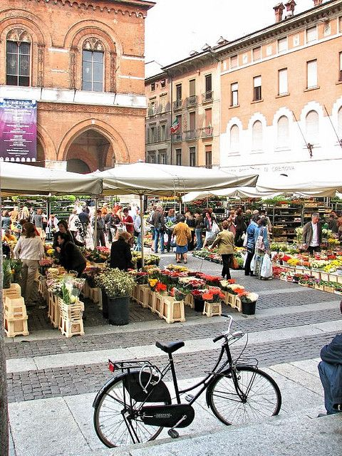 Cremona, Italy: My friend, Francesca and her family live here!