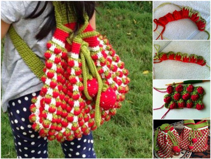 crochet strawberry stitch - Google-Suche