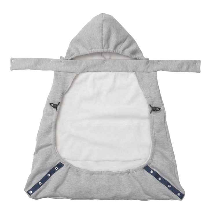 Infantino hoodie universal all season carrier cover gray