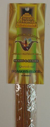 Quetzalcoatl Dragons Blood  Incense Magical Wand  Ancient Aromas -- For more information, visit image link.