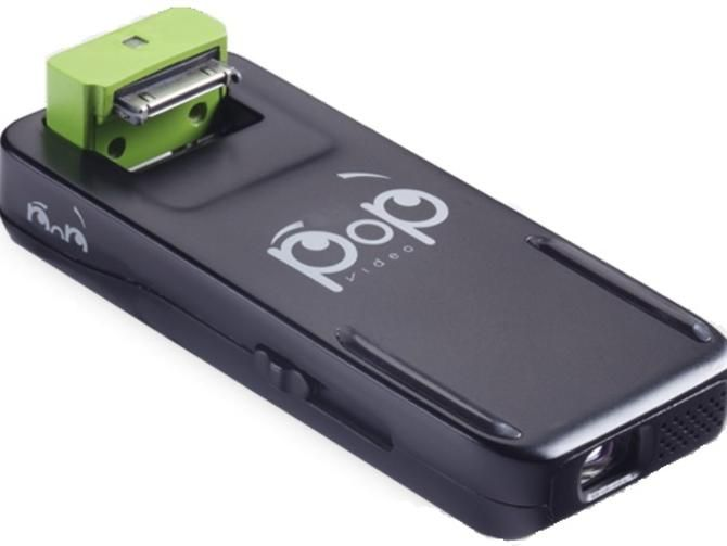 $99 Pop Video accessory turns iPhone into pico projector - CNET