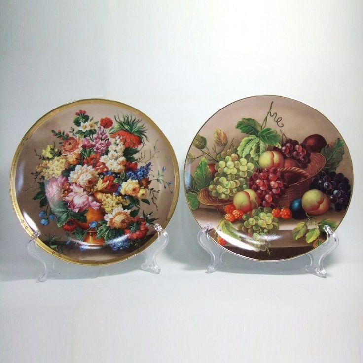 Wall Hangings Decorative Plates Home Decor Ceramic Porcelain Art Collectibles #udaimonia