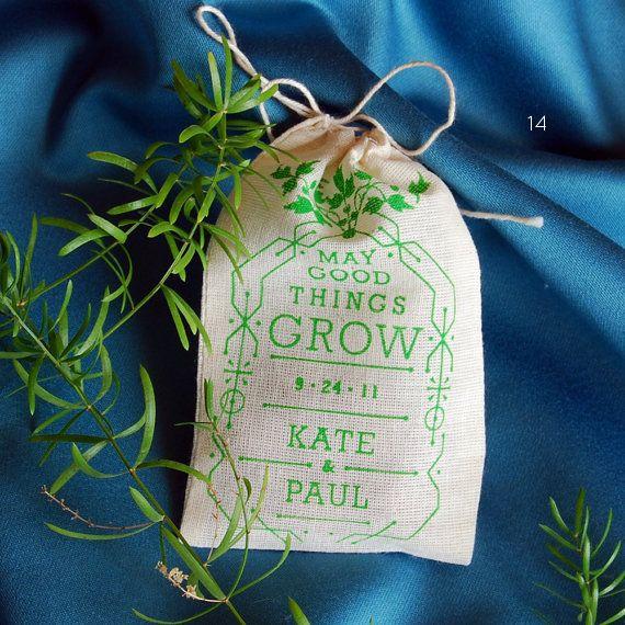 Wildflower Favors - Floral Wedding Ideas