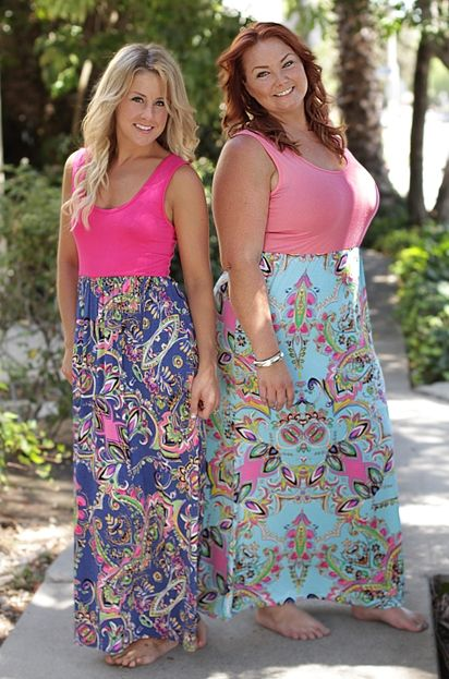 Caribbean Royalty Maxi, available in small through plus sizes, Be Inspired Boutique