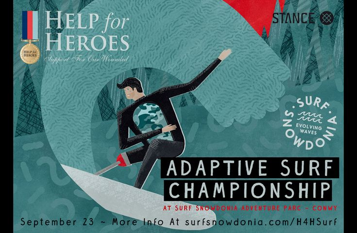 Help for Heroes Adaptive Surf Championship Surf Snowdonia to host Help For Heroes Adaptive Surf Championship September, 2017 - Surf Snowdonia will host another world-first event later this month which will bring together some of the UK's most impressive military surf athletes.
