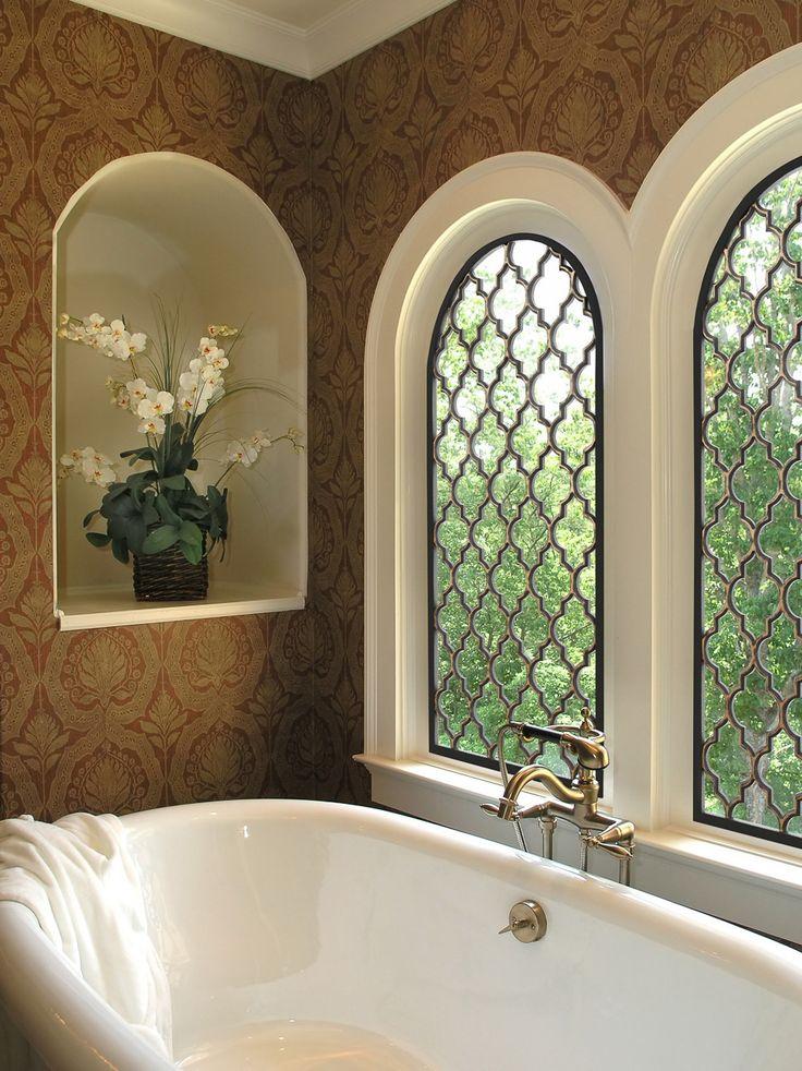 57 Best Tableaux 174 Faux Iron Window Treatments Images On